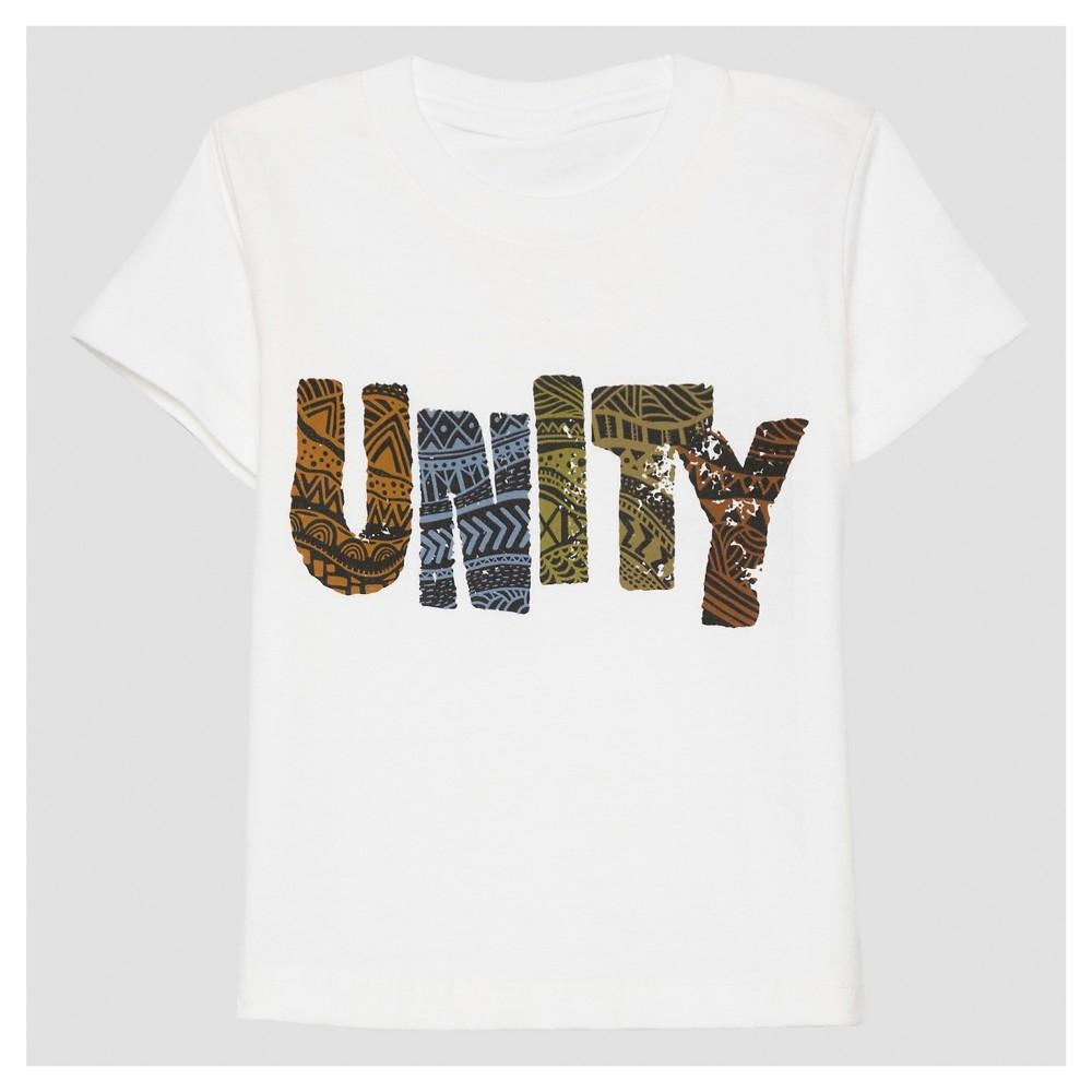 Toddler Unity T-Shirt White 4T, Toddler Boy's