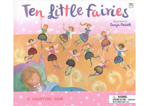 Ten Little Fairies -  (Counting to Ten Books) by A. R. Gibbs (Hardcover) - image 1 of 1
