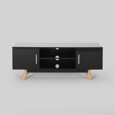"""50"""" Ariade Mid Century TV Stand Black - Christopher Knight Home"""