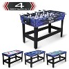 Eastpoint Sports Majik 54 In 4 in 1 Multi Game Combination Table Set w/ Billiards, Hockey, Table Tennis, & Foosball Gaming System for Indoor Game Play - image 2 of 4
