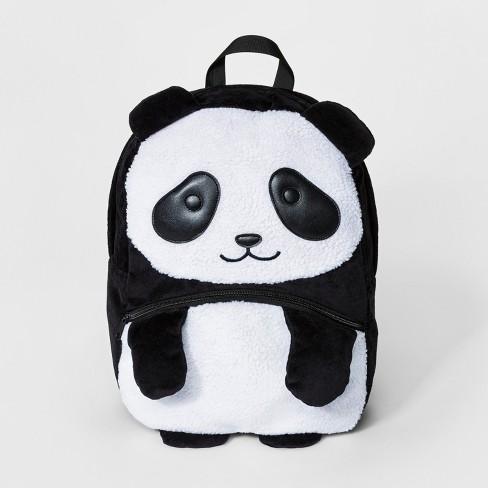 S Panda Backpack Cat Jack Black