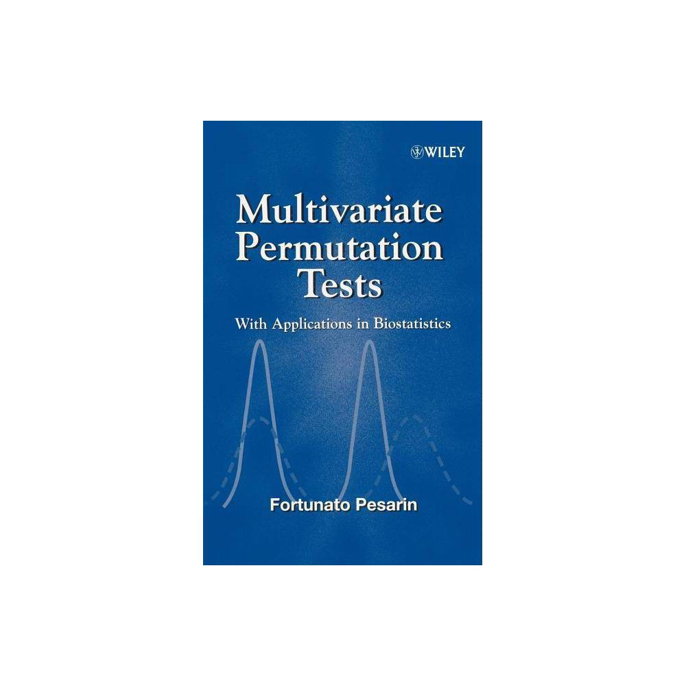 Multivariate Permutation Tests By Fortunato Pesarin Hardcover