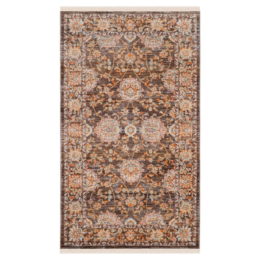 Vintage Persian Rug - Brown/Multi - (4'X6') - Safavieh