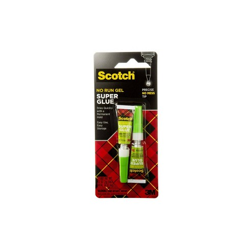Scotch 2pk Super Glue .07oz - image 1 of 4