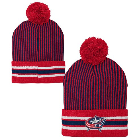 NHL Columbus Blue Jackets Youth Cuffed Knit Hat - image 1 of 3