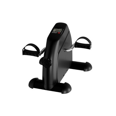 Leisure Sports Calorie Counting Stationary Exercise Peddler – Black