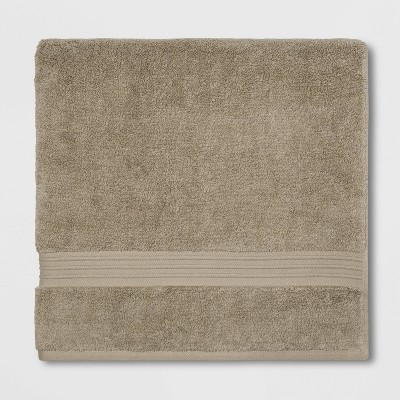 Spa Bath Sheet Taupe - Threshold Signature™