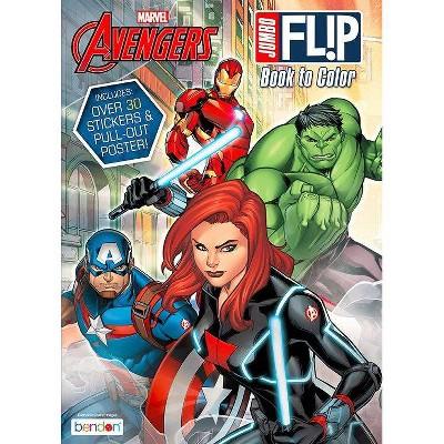 Avengers Spider-Man Flip Book