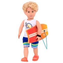 NEW Our Generation Regular Tyler Boy Riding Doll