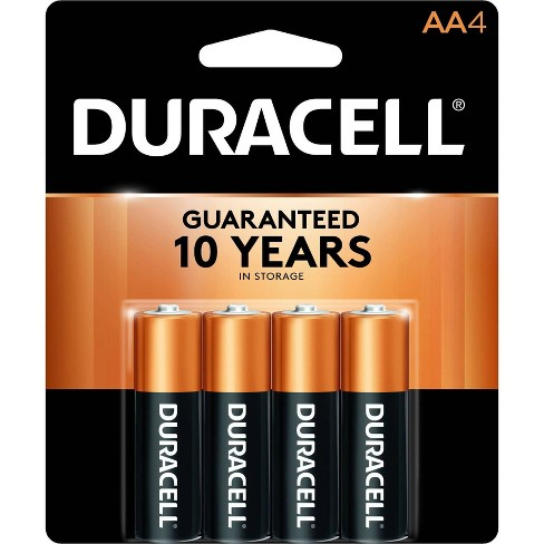 Duracell Coppertop AA Batteries - 4 Pack Alkaline Battery - image 1 of 4