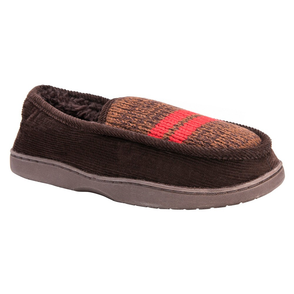 Men's Muk Luks Henry Loafer Slippers - Brown M(10-11), Size: M (10-11)