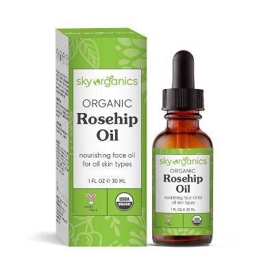 Sky Organics Organic Rosehip Oil - 1 fl oz