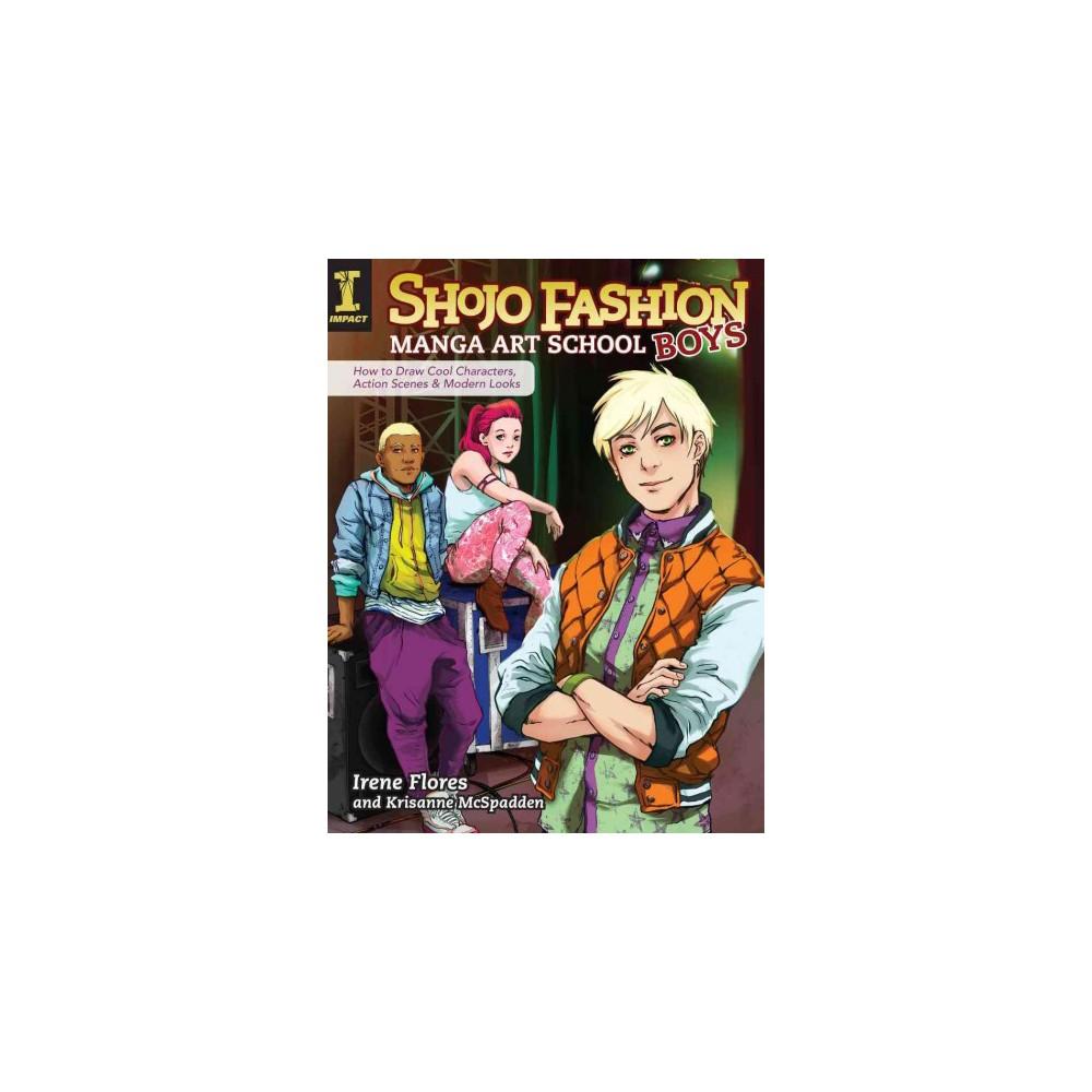 Shojo Fashion Manga Art School, Boys (Paperback)