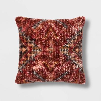 Wool/Viscose Vintage Square Pillow - Threshold™