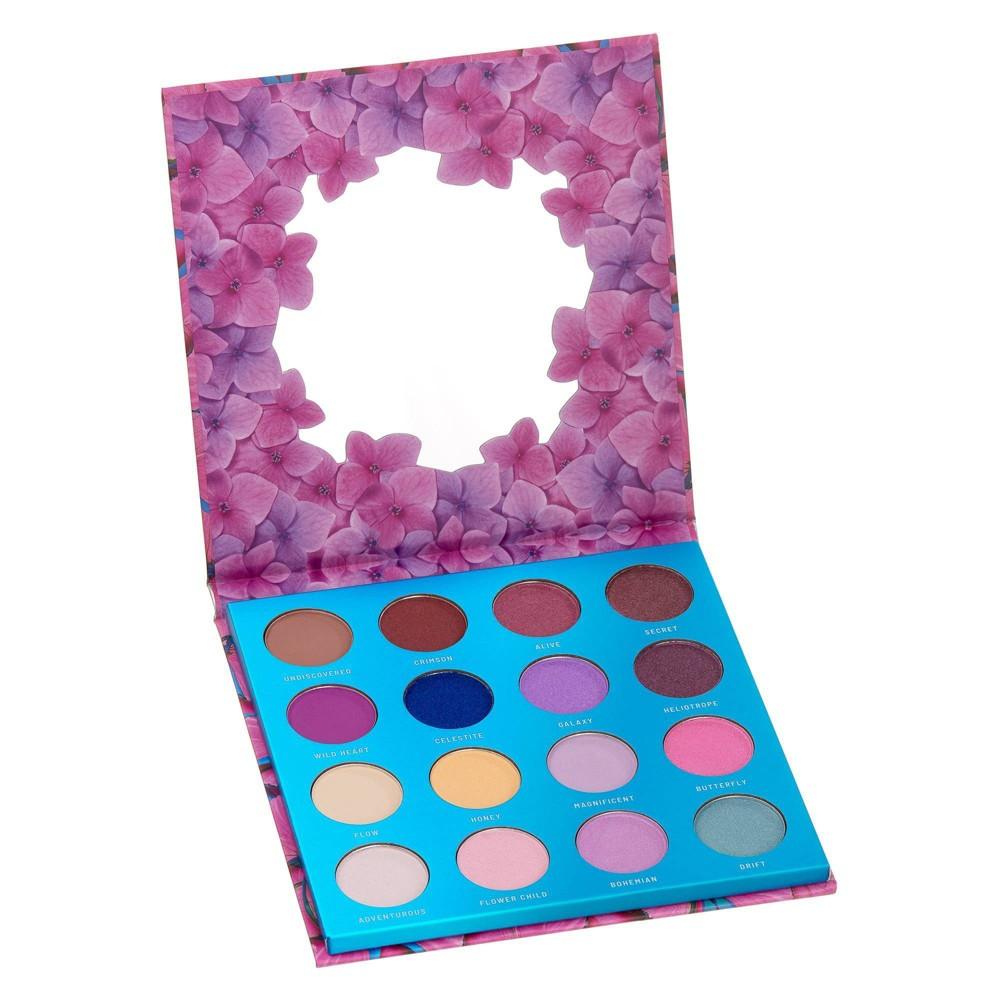 Image of Color Story Wander Pressed Pigment Eyeshadow Palette - 0.32oz