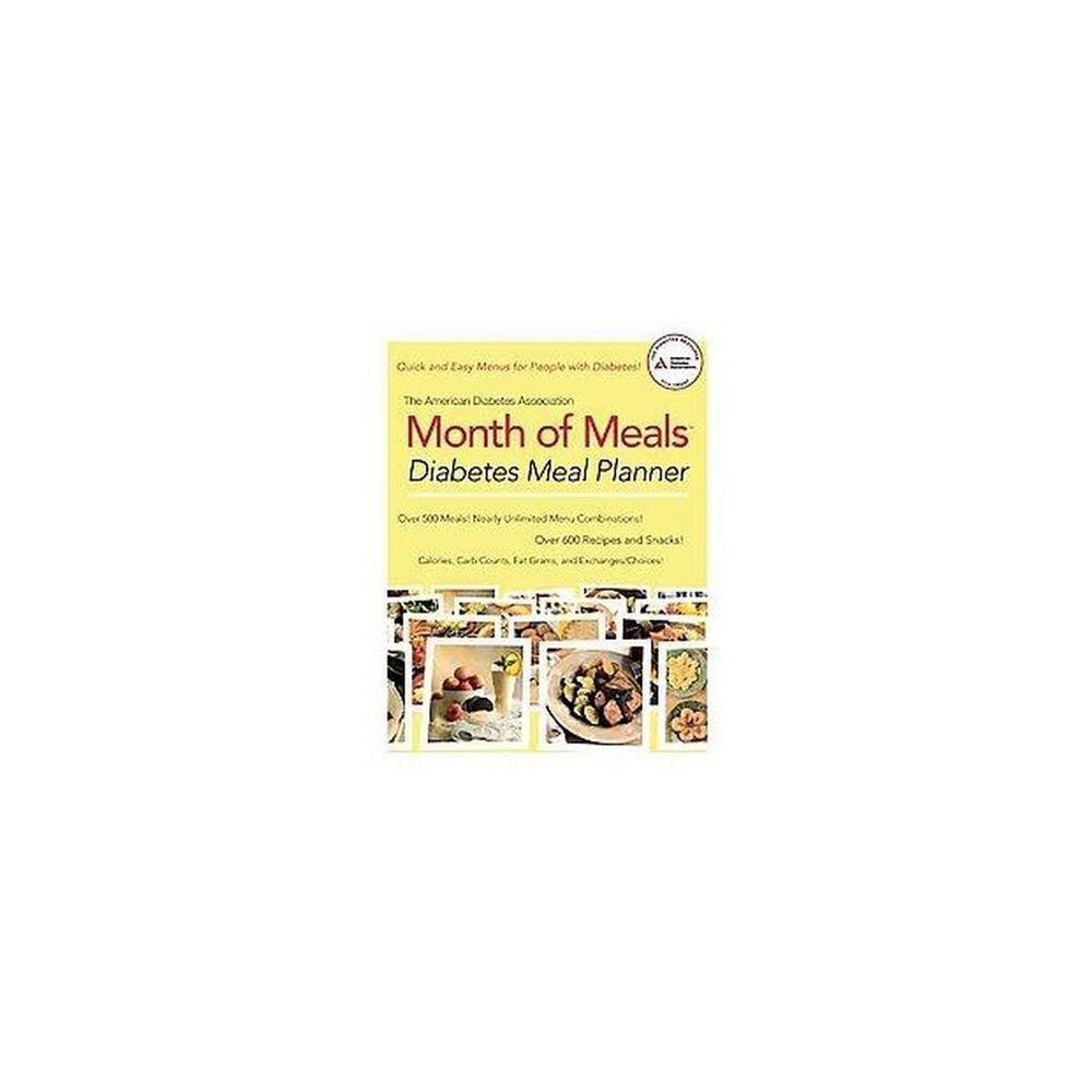 American Diabetes Assocation Month of Meals : Diabetes Meal Planner (Paperback)