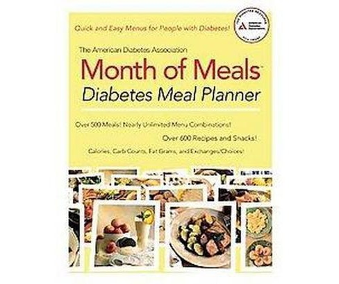 American Diabetes Assocation Month of Meals : Diabetes Meal Planner (Paperback) - image 1 of 1