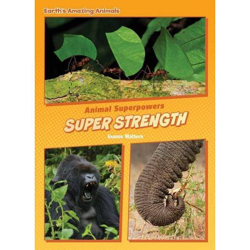 Super Strength - (Core Content Science -- Animal Superpowers) by  Joanne Mattern (Hardcover) - image 1 of 1