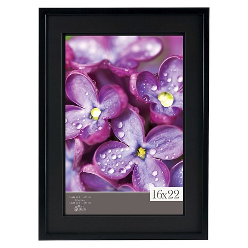 Gallery Solutions 16x22 Frame Black Target
