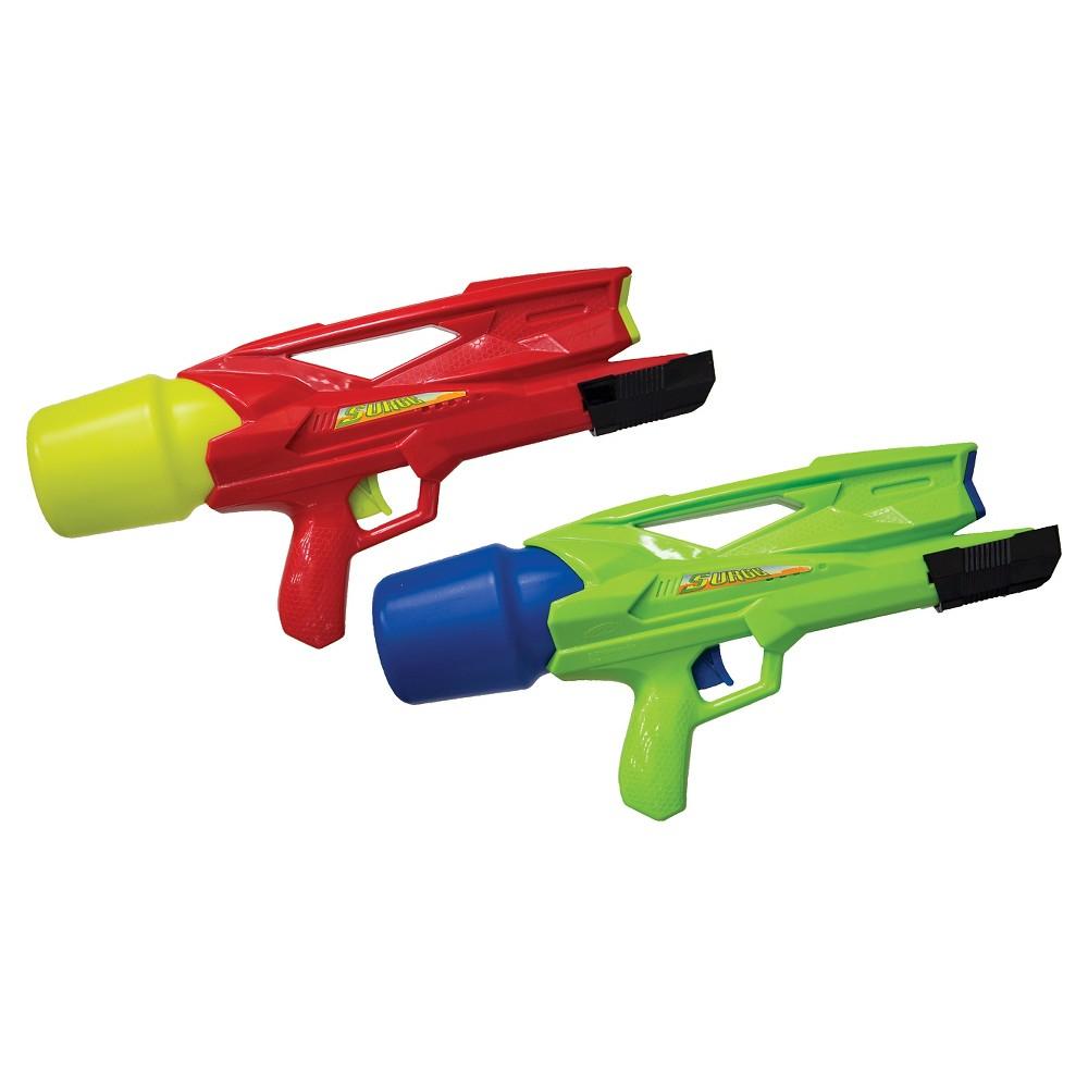 Swimways Flood Force Surge Blaster - 2pk, Multi-Colored