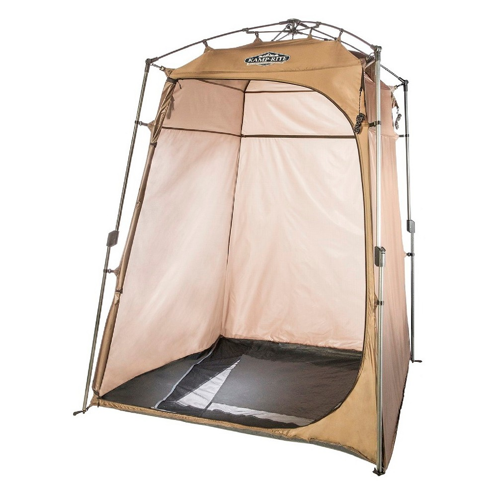 Kamprite Privacy Shelter with Shower, Brown