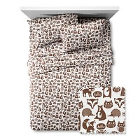Target.com deals on Pillowfort Forest Friends Sheet Set Queen