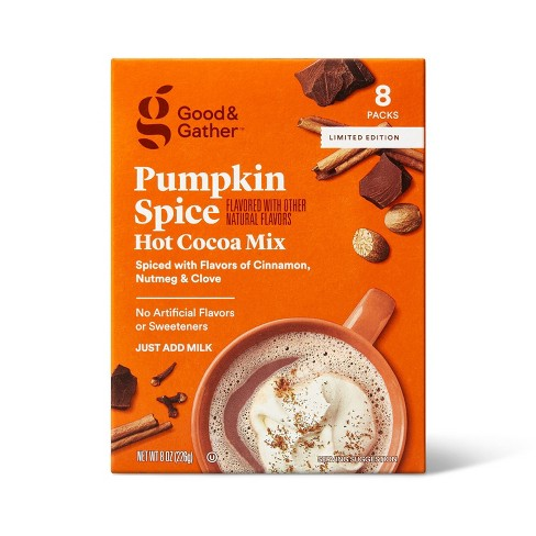 Pumpkin Spice Hot Cocoa Mix - 8oz - Good & Gather™ - image 1 of 4