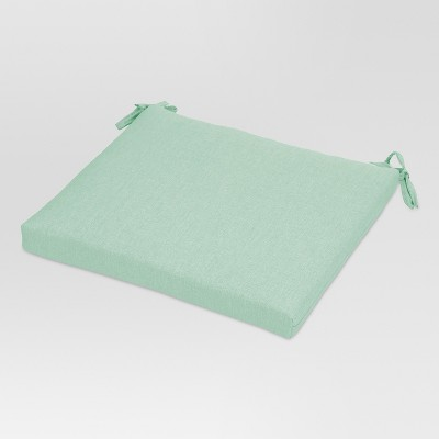 Outdoor Square Seat Cushion - Aqua - Threshold™