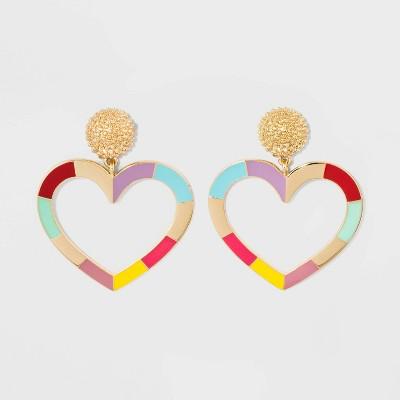 15c3351d2 Shoptagr | Sugarfix By Bauble Bar Heart Drop Earrings by Sugarfix By ...