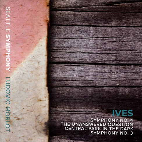 Seattle symphony - Ives:Sym no 3 & 4/Unanswered question (CD) - image 1 of 1