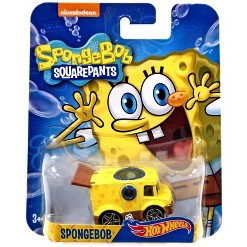 Hot Wheels Spongebob Squarepants Spongebob Diecast Character Car