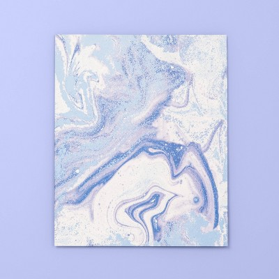 Marble Print 2 Pocket Paper Folder   More Than Magic by More Than Magic