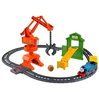 Thomas & Friends TrackMaster Cassia Crane & Cargo Set