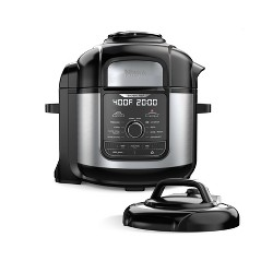 Ninja Foodi 8qt. 9-in-1 Deluxe XL Pressure Cooker & Air Fryer Stainless Steel FD401