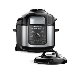 Ninja Foodi 8qt. 9-in-1 Deluxe XL Pressure Cooker & Air Fryer Stainless Steel FD401