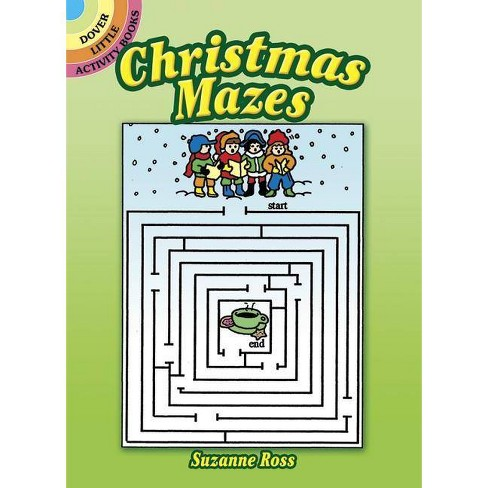 Christmas Mazes - (Dover Little Activity Books) by  Suzanne Ross (Paperback) - image 1 of 1