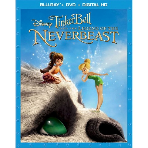 TinkerBell and the Legend of the NeverBeast (2 Discs) (Includes Digital Copy) (Blu-ray/DVD) - image 1 of 1
