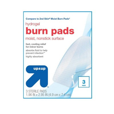 Burn Treatment Pads - 3ct - up & up™