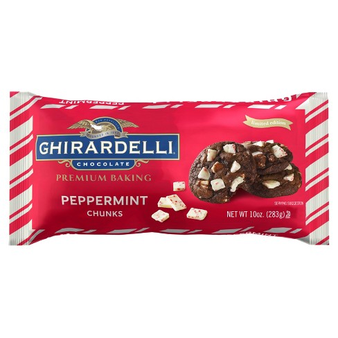 Ghirardelli Peppermint Chunks - 10oz - image 1 of 1