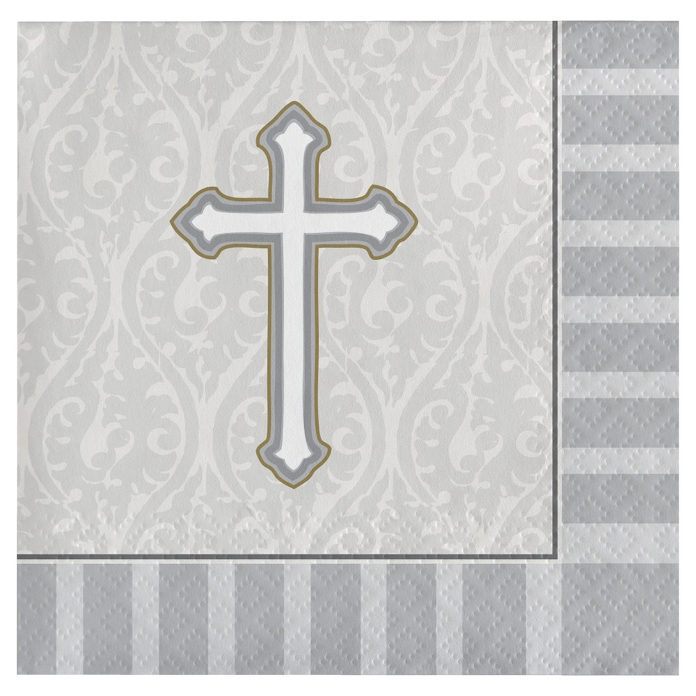 Image of Gray Disposable Napkins, disposable napkins