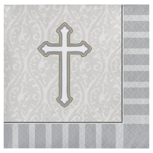 Grey Disposable Napkins - image 1 of 1