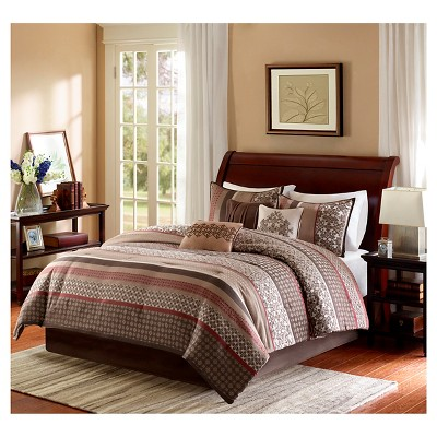 Cambridge 7 Piece Jacquard Comforter Set