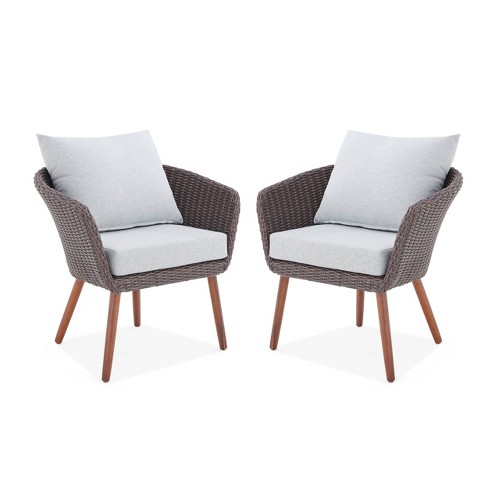 2pk All Weather Wicker Athens Outdoor, All Weather Outdoor Furniture
