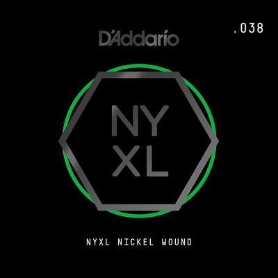 D Addario Nynw038 Nyxl Nickel Wound Electric Guitar Single String 038 Target