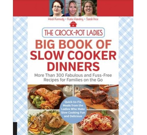 Crock-Pot Ladies Big Book of Slow Cooker Dinners : More Than 300 Fabulous and Fuss-free Recipes for - image 1 of 1