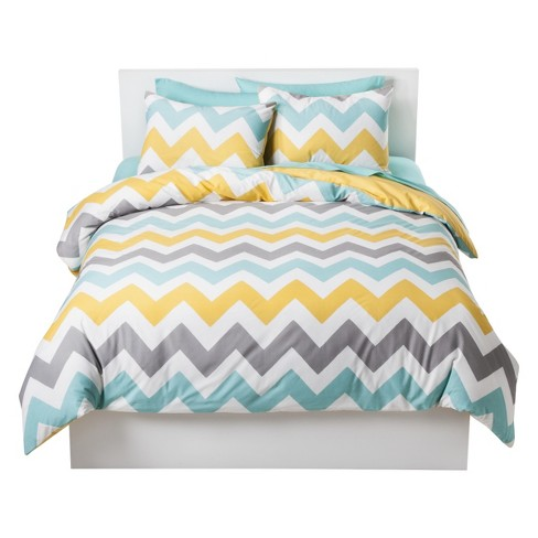 Chevron Duvet Cover Set - Room Essentials™ - image 1 of 2