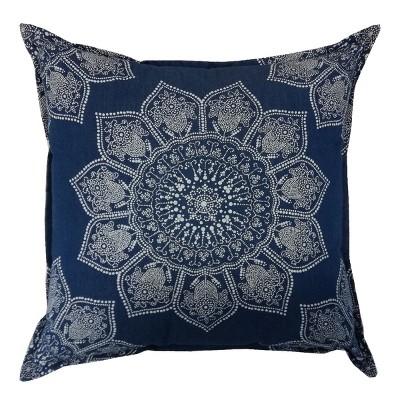 Blue Medallion Throw Pillow - Threshold™