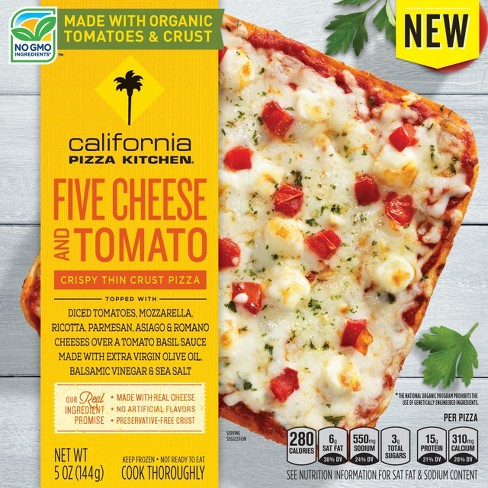 California Pizza Kitchen Five Cheese and Tomato Thin Crust Frozen Pizza - 5oz - image 1 of 1