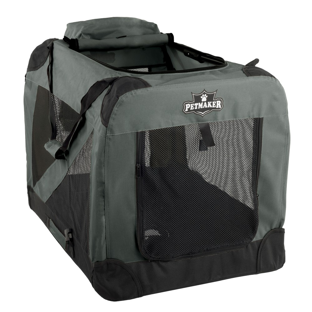 Petmaker Portable Soft Sided Dog and Cat Crate 30