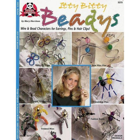 Itty Bitty Beadys - (Design Originals) by  Mary Harrison (Paperback) - image 1 of 1